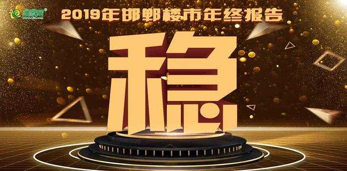 2019年邯鄲樓市年終報告