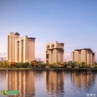 夢湖孔雀城1.2期效果圖