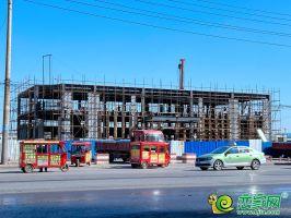 荣科金水苑售楼部在建(2020.3.15)