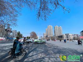 汉光悦府路口实景图(2020.3.15)