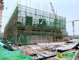 燕都紫金台售楼部在建(2020.3.21)