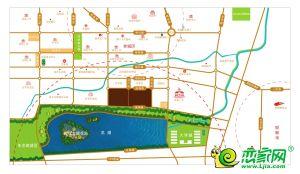 明芳濱湖城區位圖