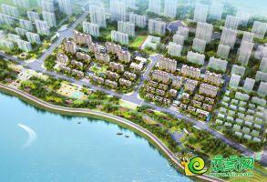 明芳濱湖城鳥瞰圖