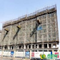 澜山悦府3号楼实景图(2020.3.27)