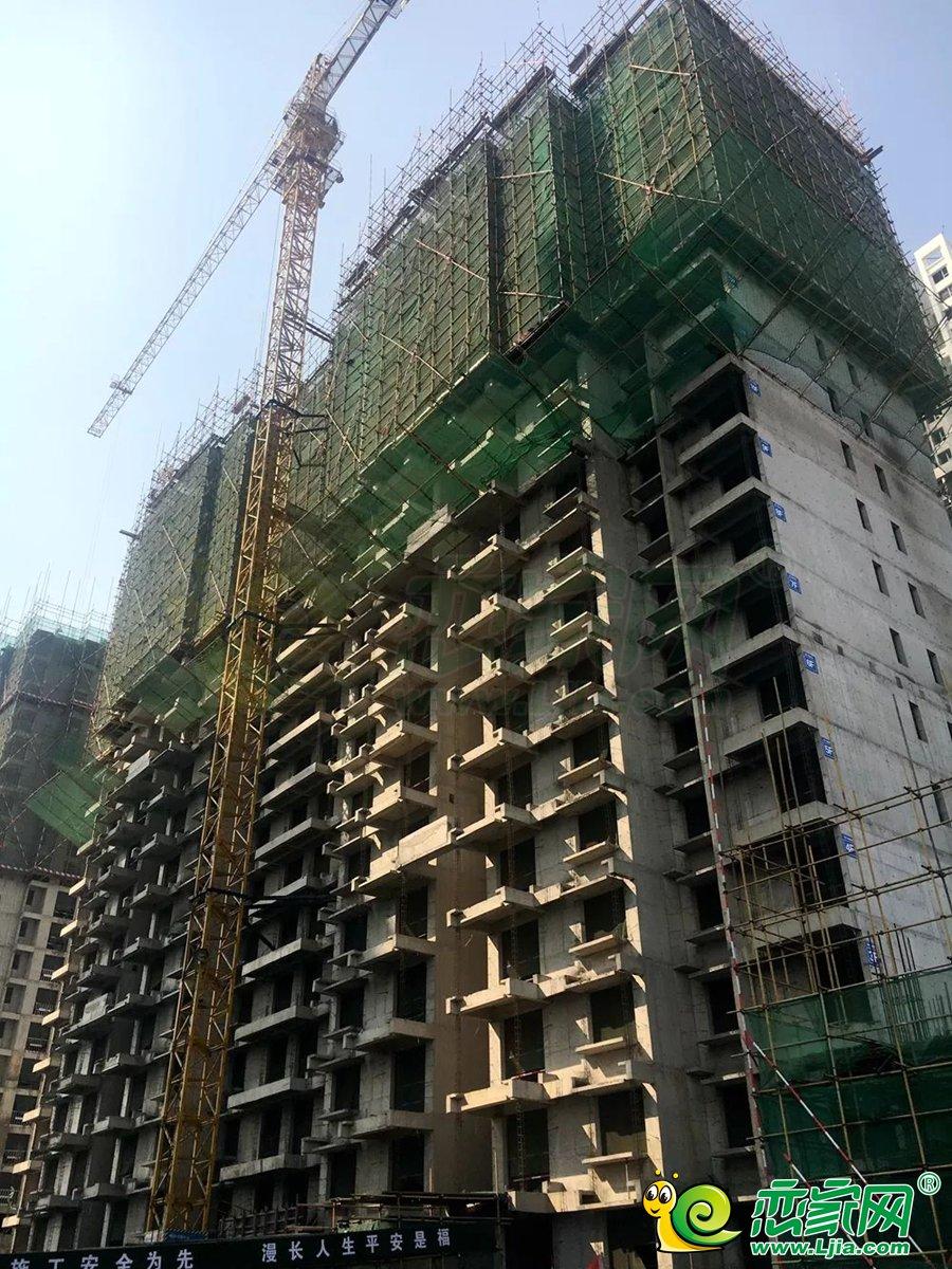 和润嘉园3号楼实景图(2020.03.27)