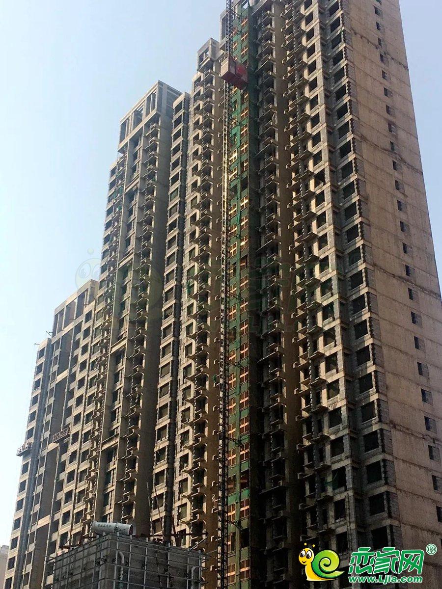 和润嘉园8号楼实景图(2020.03.27)