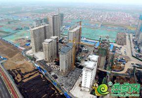 夢湖孔雀城1.2期航拍圖(2020.4.1)