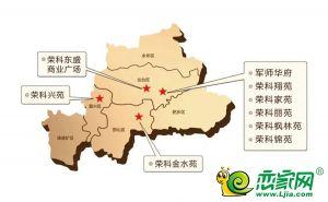 荣科地产建设项目分部图