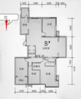 家和小區旁  榮盛錦繡花苑  低層 4居室  精裝 帶全套家具家電 地下室 車位