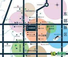 东城悦府区位图
