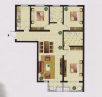 左岸楓橋精裝修送家具家電中間樓層看房方便