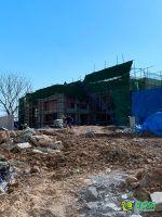 美的锦观城售楼部在建(2020.5.19)