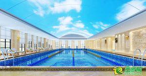 枫林苑会所游泳池