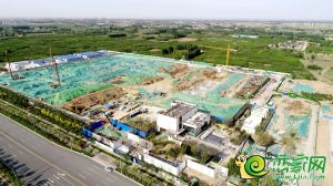 华润公元九里售楼部在建(2020.6.04)