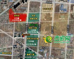 邯郸碧桂园·雍华府卫星区位图(2020.5.28)