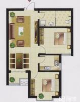 左岸枫桥2居室精装修老证好楼层看房方便