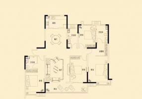 万浩金百合西区全款包更名4居室送车位地下室小高层一层2户