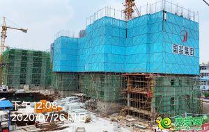 百二工地建设实景(2020.7.27)