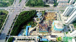 恒大城市广场航拍图(2020.7.28)