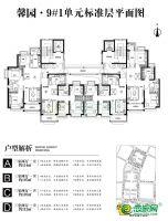 二期9号楼平面图