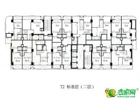 T2标准层(二层)