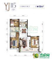 YJ115户型