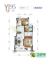 YJ95户型