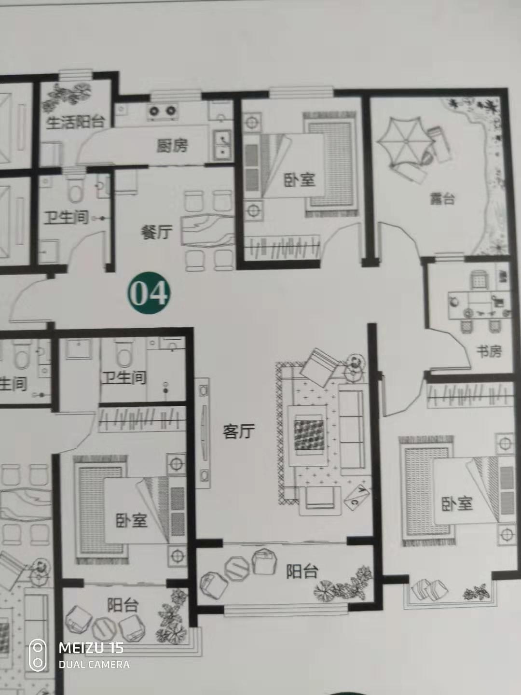 万浩俪城东区全部包更名顶层送平台有钥匙看房方便