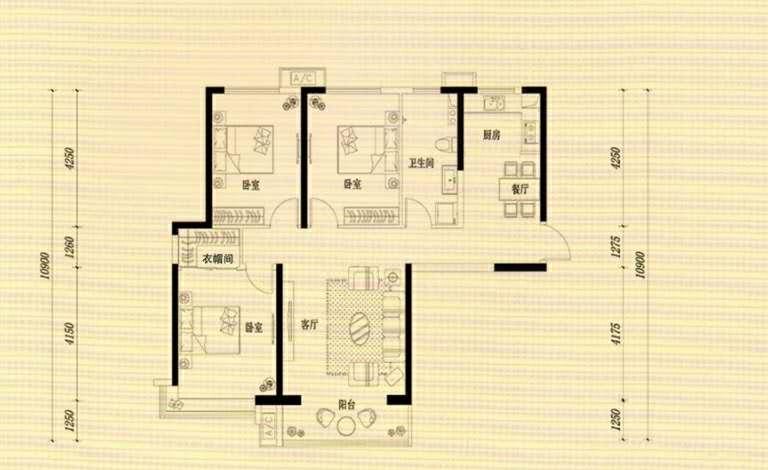 万浩金百合西区全款包更名西楼头3居室看房方便