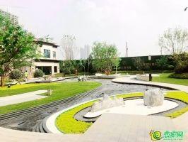 天正·君悅府營銷中心園林示范區實景圖