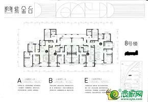 8號樓平面圖