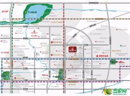 恒大城市广场区位图