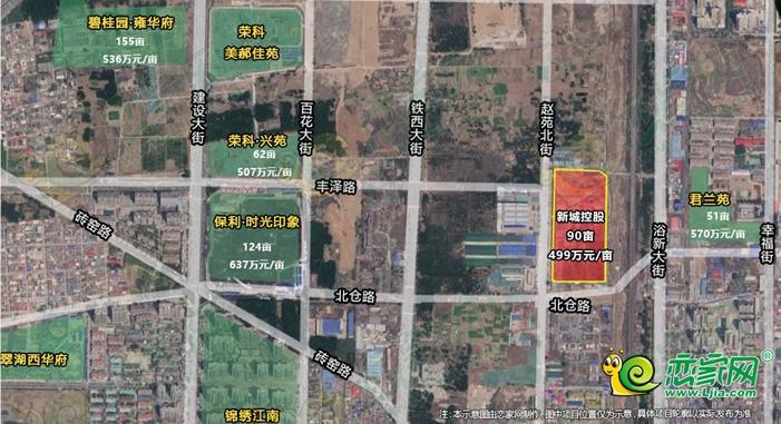 新城控股來邯鄲了!4.48億競得趙苑北街旁90畝地塊