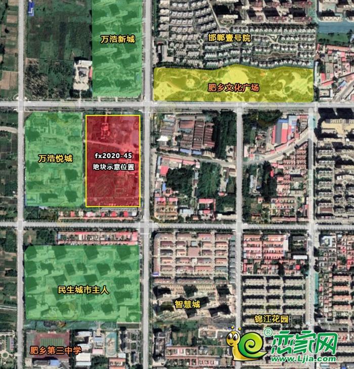 肥鄉地價已達363萬元/畝,110畝地塊4億成交!