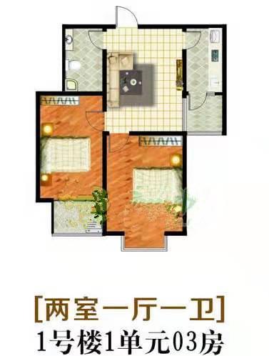 嘉大如意小高層2居室老證總價低首付低看房方便
