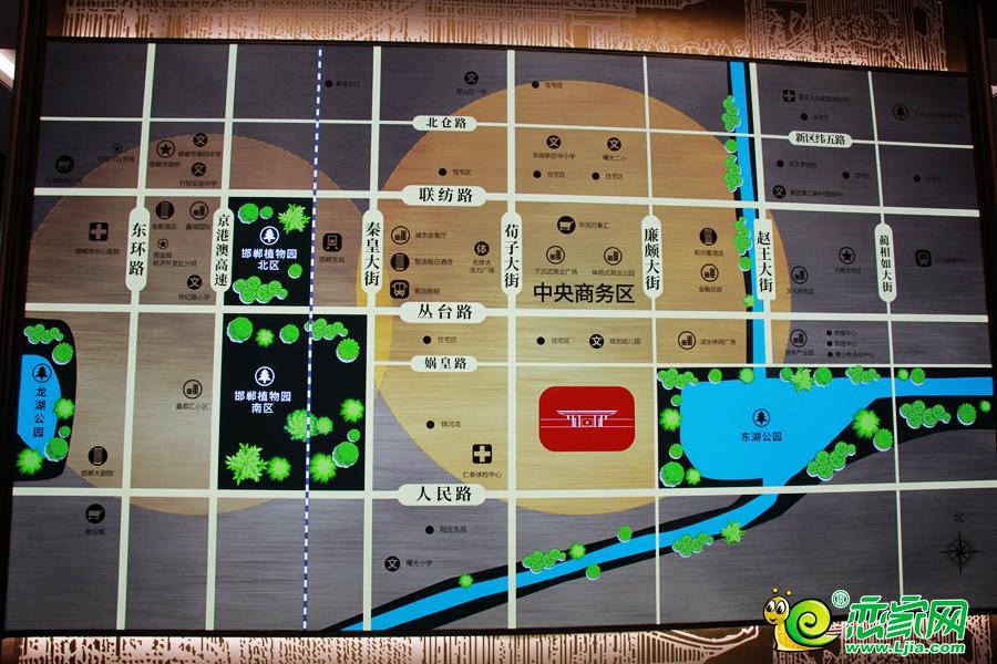 天正·凤麟东院区位图