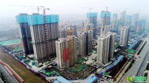 荣科枫林苑航拍实景图(2021.1.1)