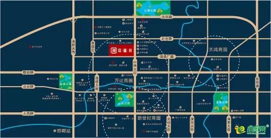 璟樾府区位图
