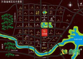 万浩玺城区位图