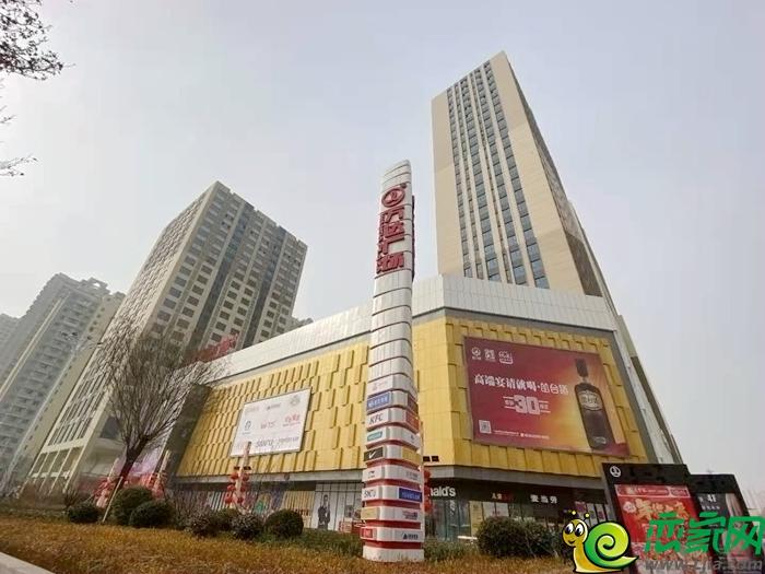 万达广场实景图(2021.1.28)
