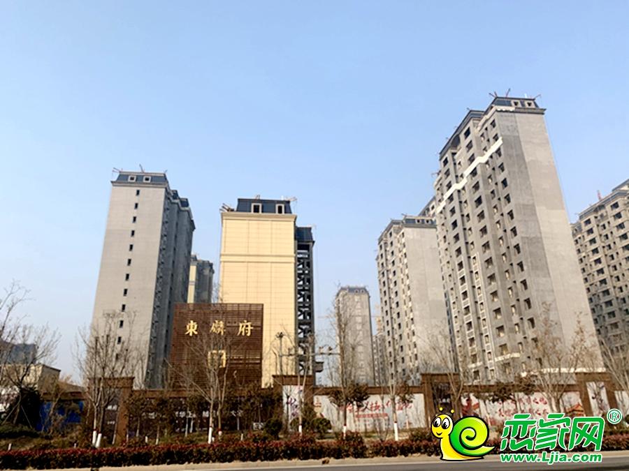 东麟府实景图(2021.01.31)