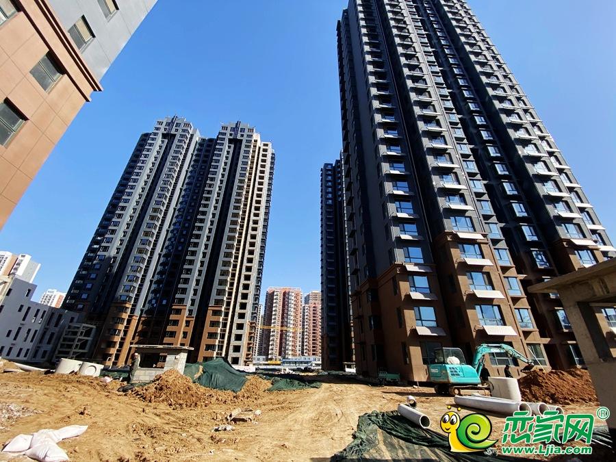金色漫城项目施工进度倒排计划 预计6月底交房