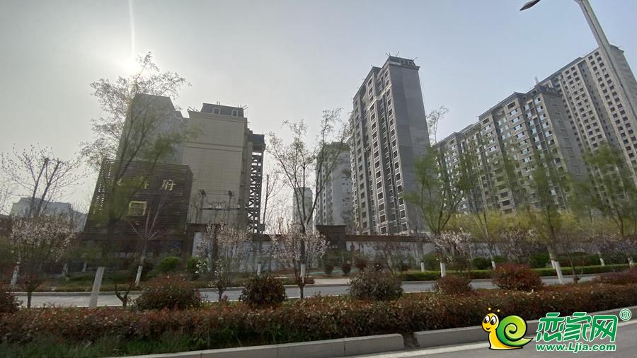 东麟府实景图(2021.03.27)