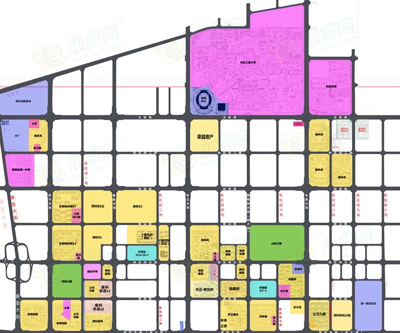 邯郸东区发展规划图