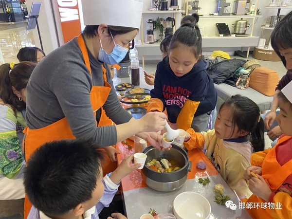 邯郸环球中心业主活动日-走进美食的世界