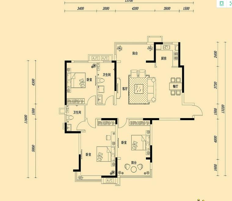 万浩金百合西区全款可更名东户小高层看房方便