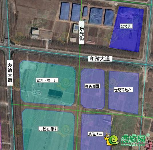 碧桂园磁县摘地!2.4亿元竞得磁县北部新城74亩地块