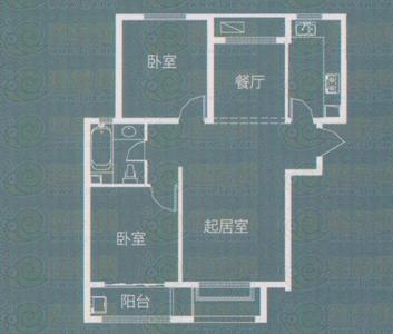 安联水晶坊南北通透3居室东户中间楼层看房方便