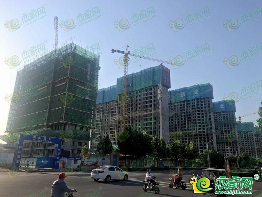 美的锦观城实景图(2021.08.05))