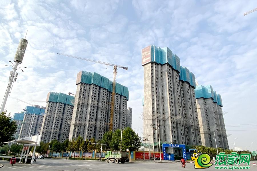 美的锦观城实景图(2021.10.18)